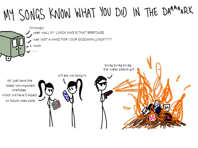 badly drawn band guys  | via Tumblr on We Heart It