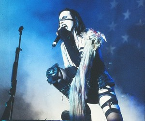 Antichrist Superstar, live, and Marilyn Manson image