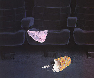 cinema, popcorn, and movie image