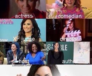demi lovato, inspiration, and actress image