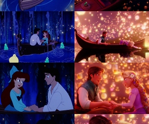 disney, love, and tangled image