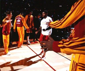 cleveland, irving, and NBA image
