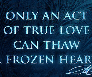 frozen, disney, and heart image