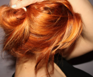 beautiful hair, redhead, and ginger image