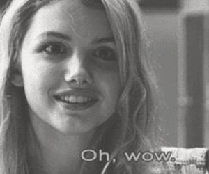 b&w, cassie ainsworth, and hannah murray image