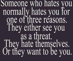 haters, quotes, and heart image
