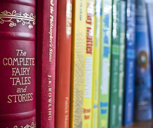 book and colorful image
