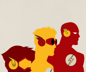 flash, impulse, and wally west image