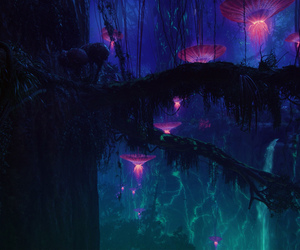 avatar, forest, and pandora image