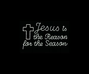 christmas, is, and jesus image