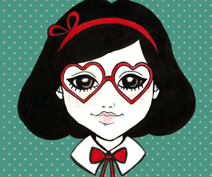 red, vintage, and dixie leota image