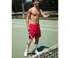 Hot, sexy, and tennis image