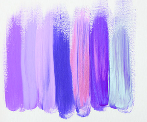 pink, paint, and purple image