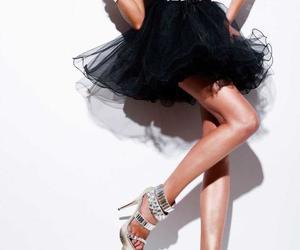 black dress and sherri hill image