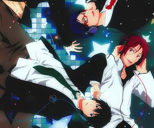 anime, haru, and free! image