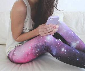black, cool, and galaxy image