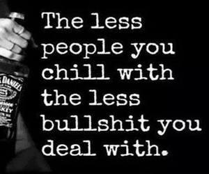bullshit, quote, and life image