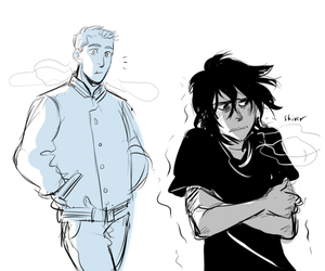 jason, nico, and nico di angelo image