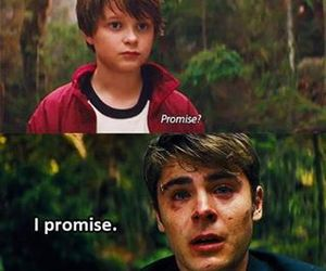 promise, zac efron, and movie image