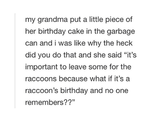 birthday, funny, and grandma image