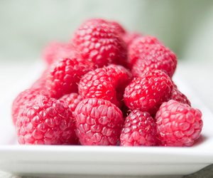 raspberry, food, and fruit image