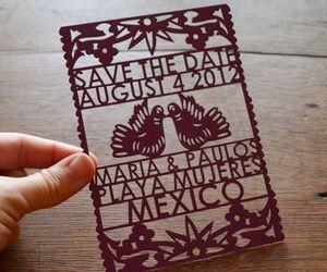 invitation, invite, and paper art image