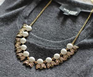 fashion, necklace, and style image