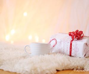 bokeh, chocolate, and christmas image