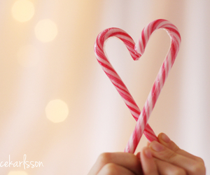 bokeh, christmas, and candy image