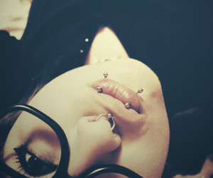 piercing, tattoo, and cute image