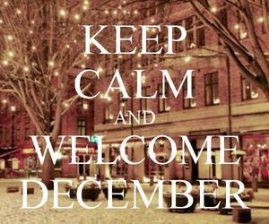 december, christmas, and keep calm image