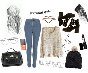 jeans, mulberry, and outfit image