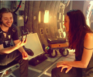 Nikita, aaron stanford, and maggie q image