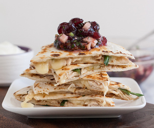 cranberry, salsa, and poultry image