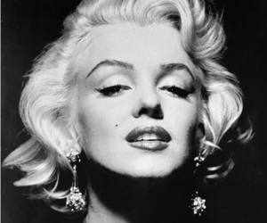 black white, Marilyn Monroe, and sexy cute girl image