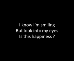 sad, quote, and happiness image