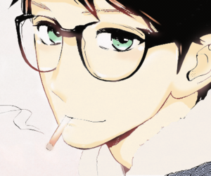 manga, hirunaka no ryuusei, and satsuki shishio image