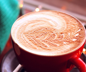 cappuccino, chocolate, and delicious image
