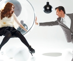 matt smith, karen gillan, and doctor who image