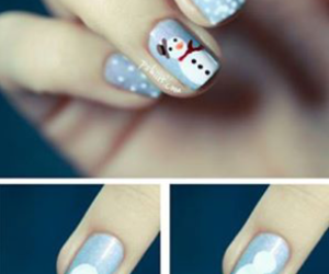 christmas, design, and nails image
