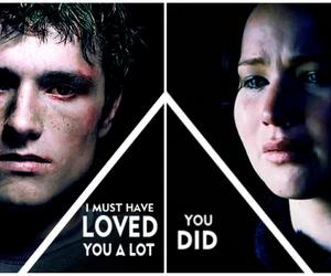 katniss, peeta, and mockingjay image