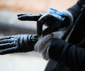 black, fashion, and gloves image