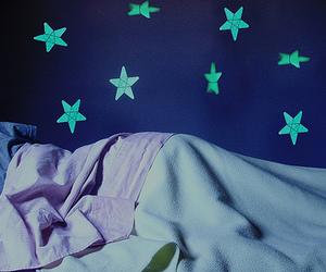blue, sleep, and stars image
