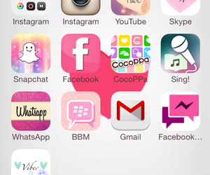 mine, pink, and iphone 5 image