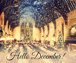 december, hogwarts, and together time image