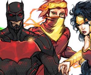 batman, flash, and wonder woman image