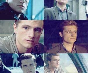 josh hutcherson, love, and peeta mellark image