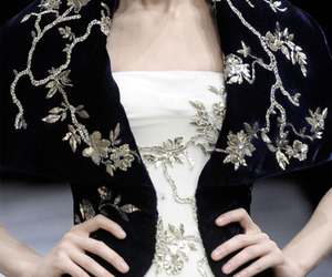 Alexander McQueen, black, and Couture image