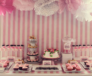 pink, party, and cake image