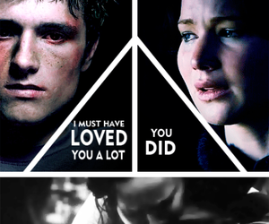 forever, love, and katniss image